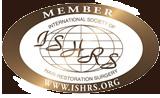 ISHRS logo gold