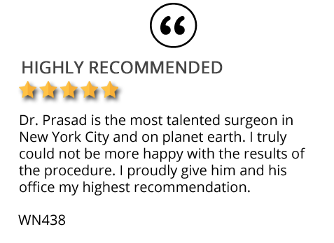Patient review on TrichoStem non-surgical hair restoration New York City